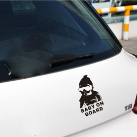 Baby On Board-sticker til bilen