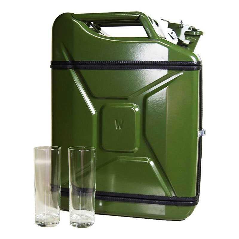 Cyklende vinholder
