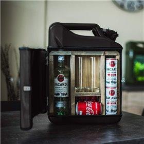 'Shotglasset' peger på...