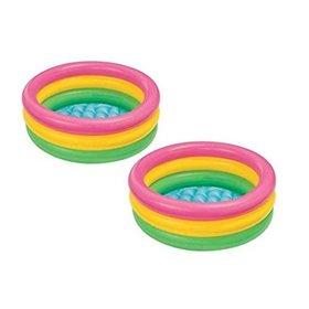 LED-lys som rose