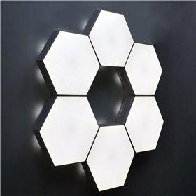 Flotte plastik-juletræer