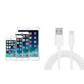 iPhone spiral USB-kabel