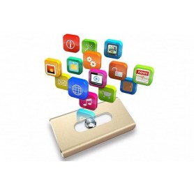 Flash Drive til iPhone i forskellige størrelser