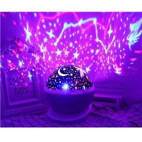 Spejl med LED-lys