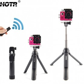 Smart bluetooth selfie-stang med tripod