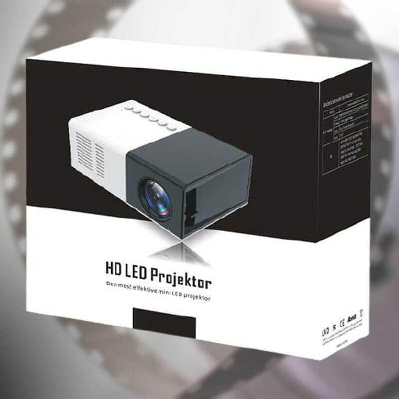 Disco-shower lampe til børneværelset