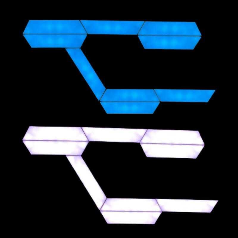 2 stk. sensorstyrede LED-lamper