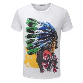T-shirt med indianer-design