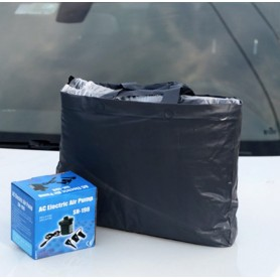 Luftmadras til bilen