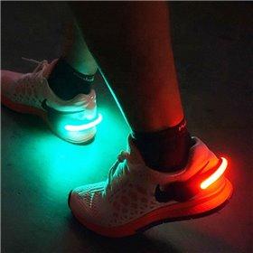 Læderarmbånd med bi-motiv