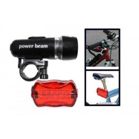Powerbeam LED cykellygter