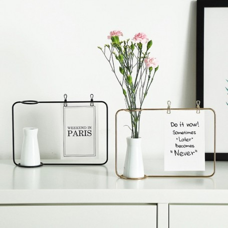 Display med vase