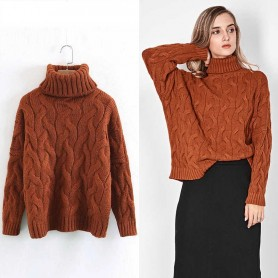 Rullekrave sweater